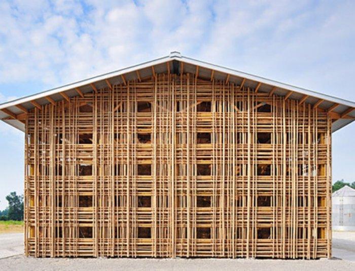 Eyecatching Eyecandy Bamboo Buildings