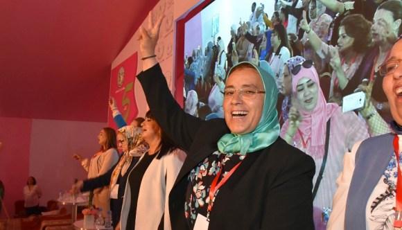 انتخاب خديجة الزومي على رأس المنظمة الاستقلالية