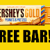 Free Bars of Hershey's Gold Chocolate - NEW OFFER!!