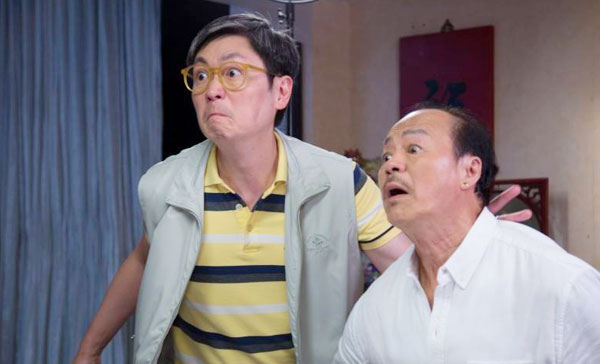 Johnson Lee and Ti Lung in STAYCATION (2018)