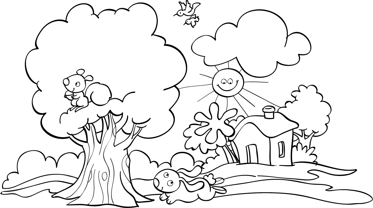Drawings4kids Paisaje Campesino