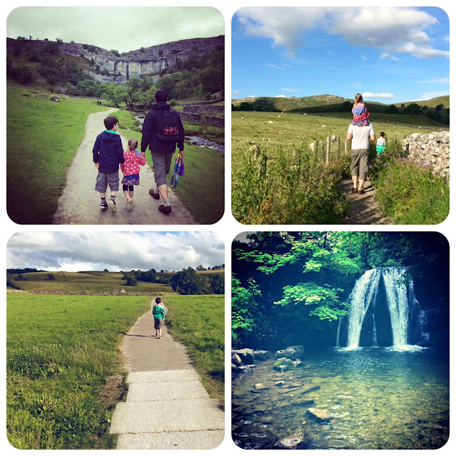 Family Adventures in Malham, Yorkshire