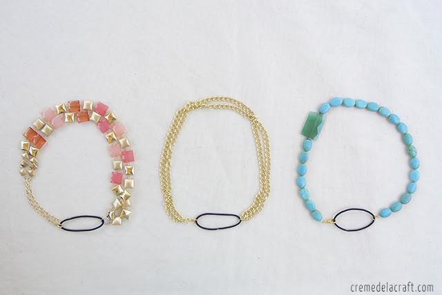 5 Minute DIY Convertible Necklace Headband: Créme de la Craft