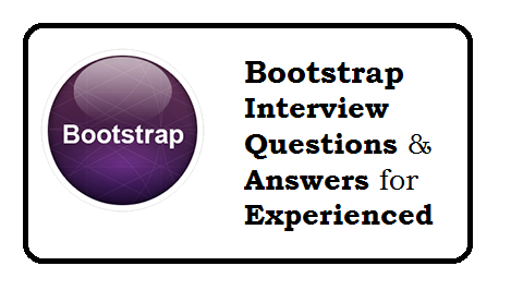 Bootstrap interview questions and answers pdf free download