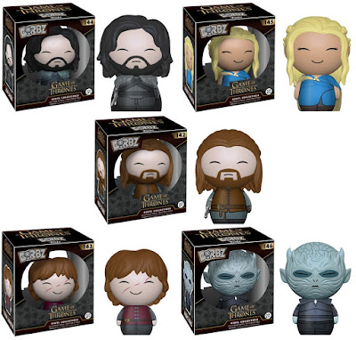 Game of Thrones Dorbz Series 1 Vinyl Figures by Funko - Daenerys Targaryen, Jon Snow, Ned Stark, Tyrion Lannister & the Night's King