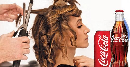 Truques de Limpeza com Coca-Cola - Cacheando os cabelos