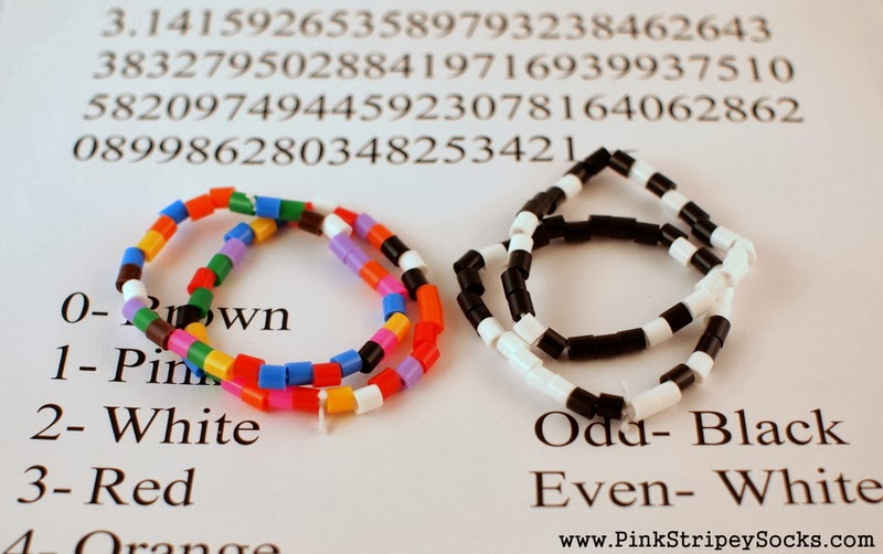 Pi Day Craft Activity Make Inspired Bracelets