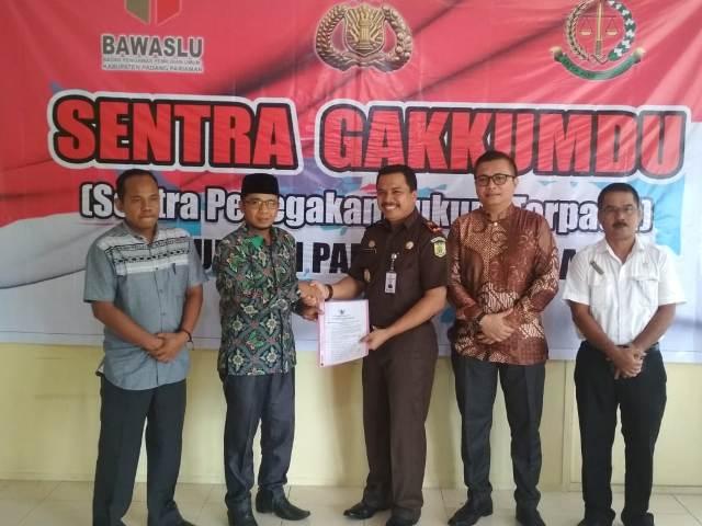Gakkumdu Padangpariaman Perkuat Koordinasi Jelang Pemilu 2019