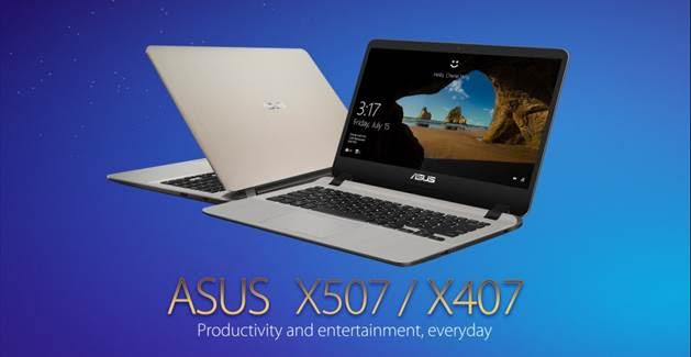 ASUS Philippines Officially Launched Its Newest Compact and Lightweight Premium Notebooks – the ASUS X407 and X507