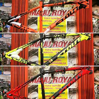 Frame 27.5 STOUT M30 Alloy Ringan Keren