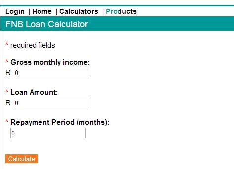fnb home loan application pre approval