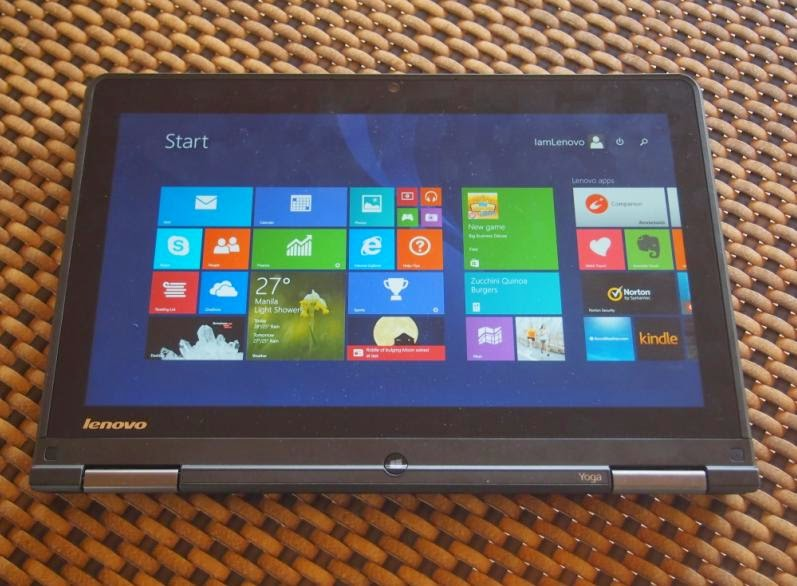 Lenovo ThinkPad Yoga as Tablet