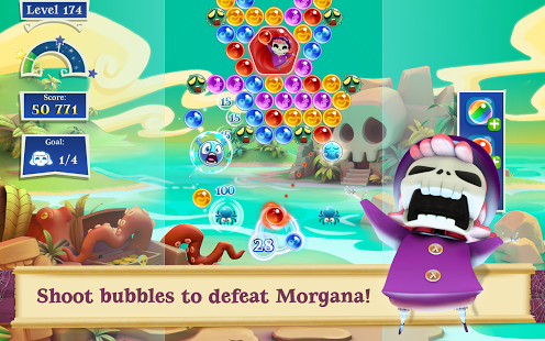 Bubble Witch 2 Saga Apk mod new version