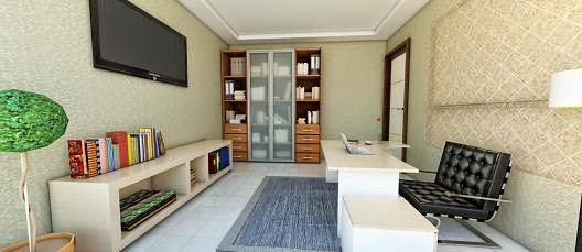 Interior+Ruang+Kerja+minimalis