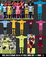 PES 2013 Eibar Kits 2016-17 (BY ANTONELLI)