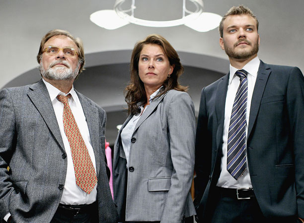 There's no time!: Borgen: Series 1 (2010)