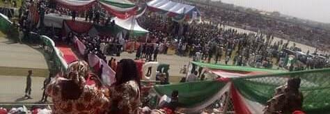Mammoth Crowd At PDP Rally At Kaduna