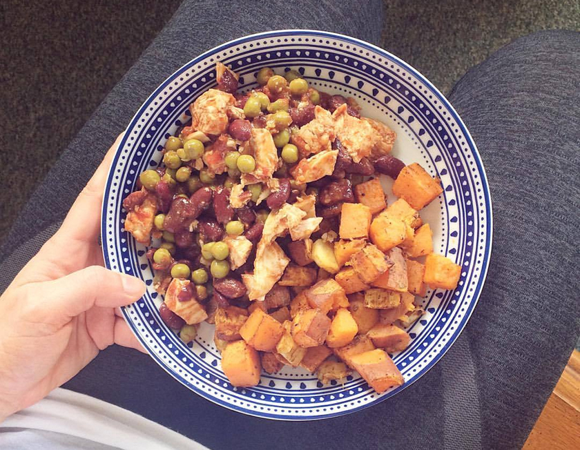 Veggie Meal Prep - Eat Clean, Recipe, High Protein, sweet potato, chipotle