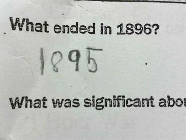 Here Are 25 Kids That Gave Absolutely Brilliant Answers On Their Tests. These Are Hysterically Genius. - Touche