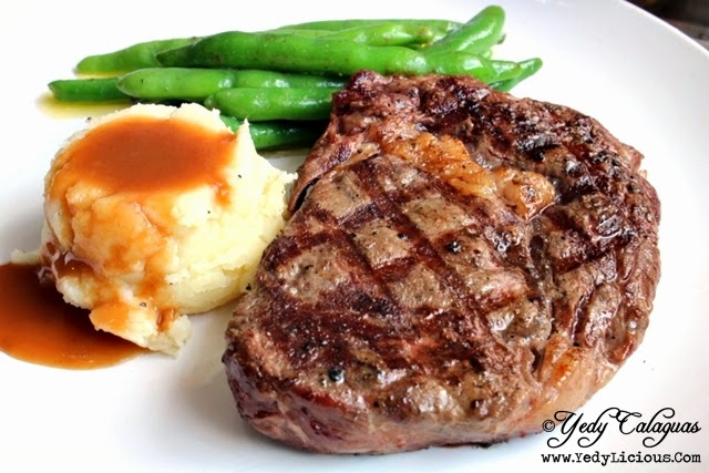 Affordable Rib Eye Steak at Burger Company in Quezon City