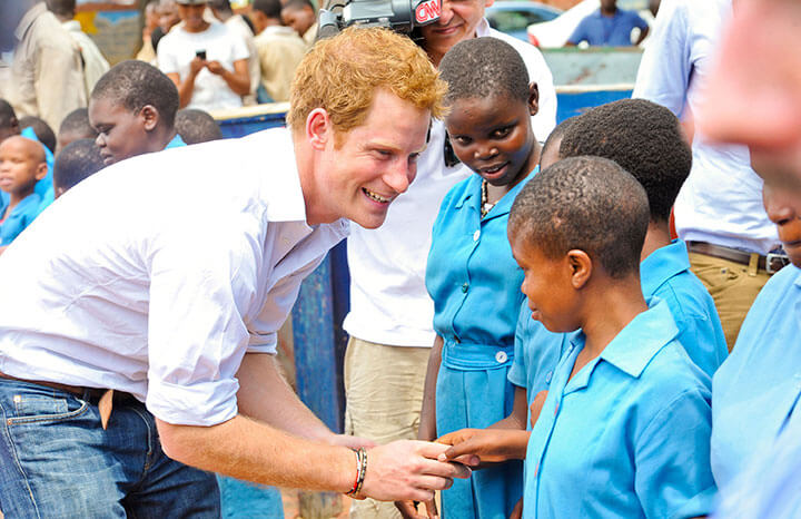 African Orphan Who Had Met With Prince Harry 14 Years Ago Got A Prime Spot In Royal Wedding