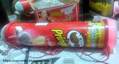 pringles karaoke kit working