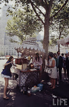 Rare Color Of Hippie Peddlers Streets