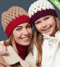http://www.yarnspirations.com/pattern/crochet/cute-clusters-hats