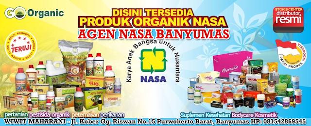 Agen/Distributor/Stockist Resmi NASA Wilayah Banyumas dan Sekitarnya.