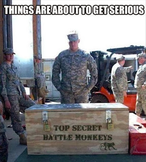padlocked wooden shipping crate us army base things are about to get serious