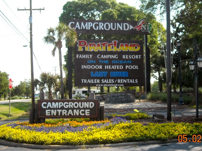 We Woke Up And Drove Five Miles To Pirateland Campground After Spending The Night At In Myrtle Beach Sc Stayed This Park 2 Years Ago