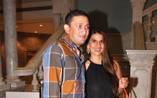 Ajit Agarkar At Home In Mumbai