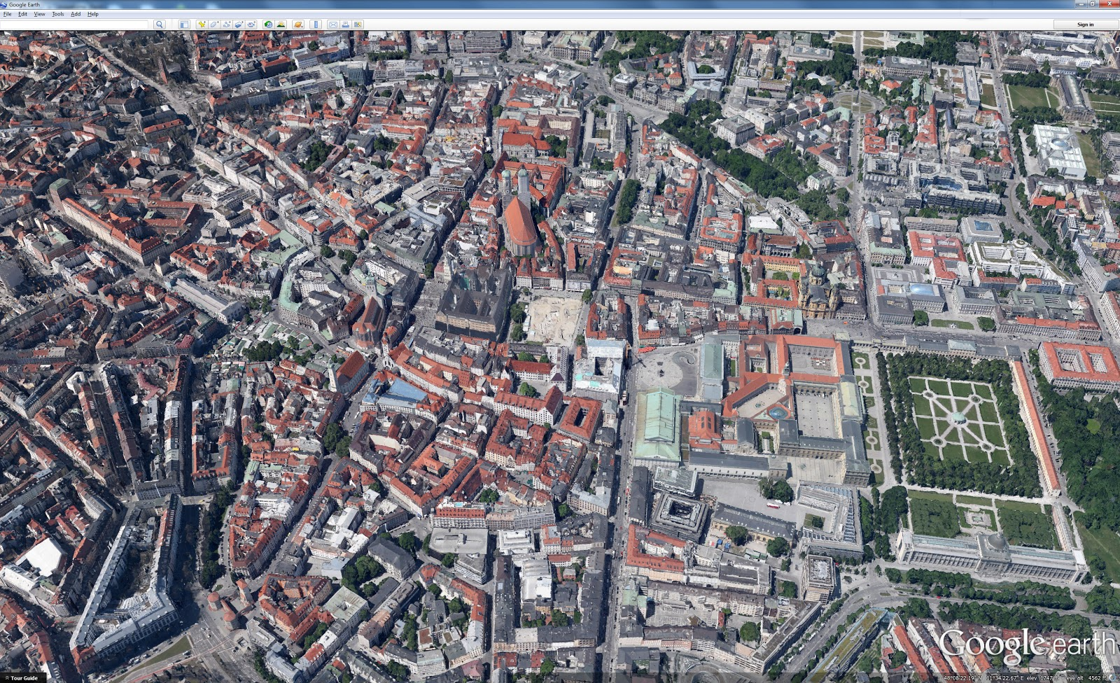 Google Lat Long Explore The World With Tour Guide And 3d Imagery In