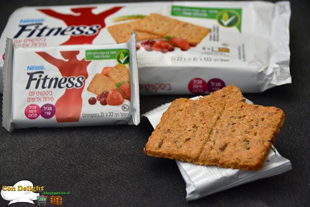 ביסקוויט פיטנס פירות אדומים red fruit fitness