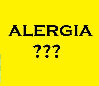 cuidado com as alergias