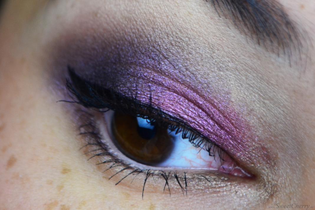 Augen Make up mit Vintage Romance Palette von Sleek