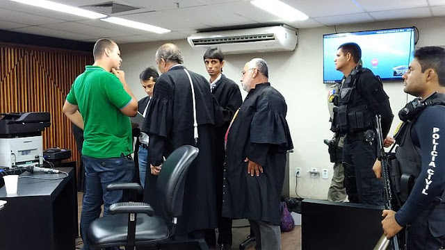 Baixinho Boiadeiro é preso durante julgamento em Maceió