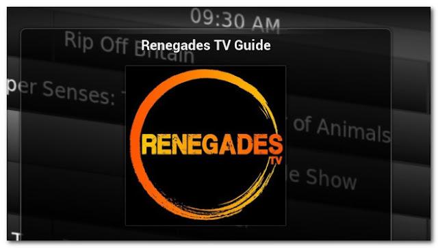 Programs - Add-ons Reenegades-tv For IPTV XBMC | KODI