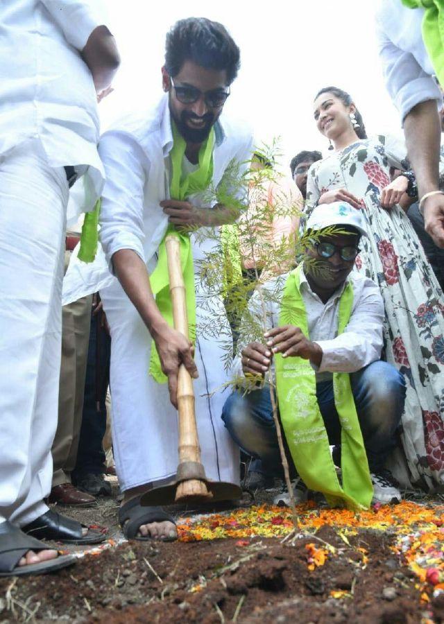 Rana Daggubati Catherine Tresa Participated In Haritha Haram