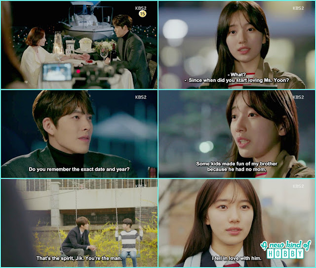 no eul told when she first fall in love it was 2005 the man who give courage to her little brother not to cry - Uncontrollably Fond - Episode 17 Review