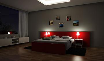 Vray lights interiors effects sunlight for Vray interior scene