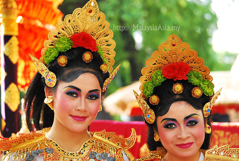 Festival Of People And Tribes In Bali Indonesia Pt 1