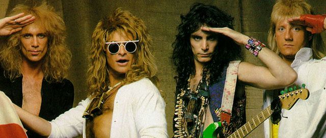 David Lee Roth Band con Steve Vai