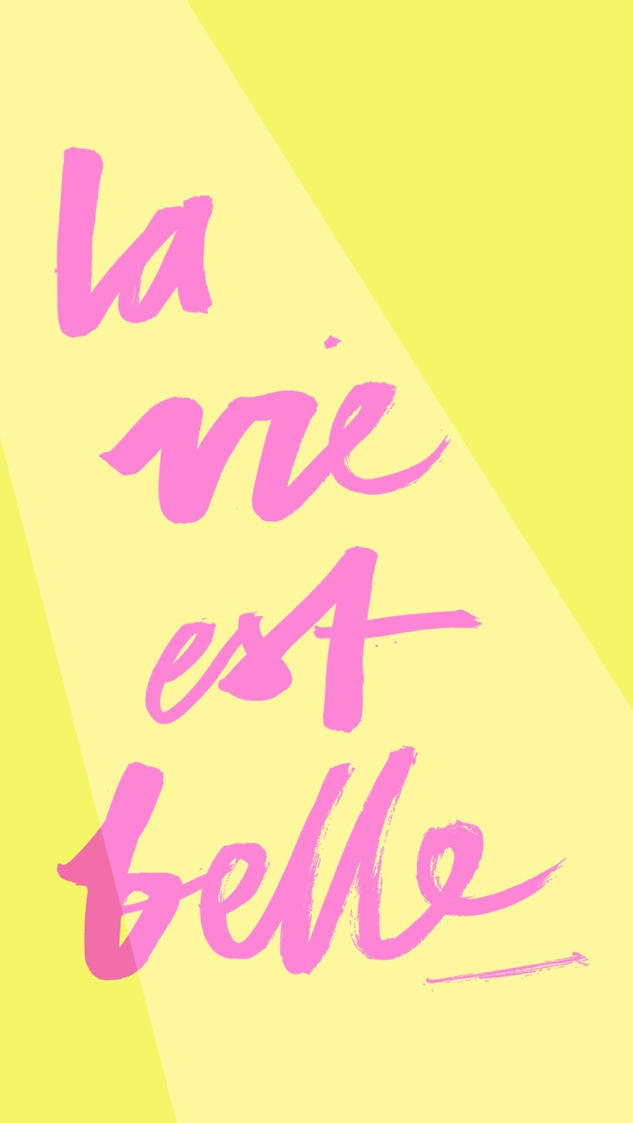 la-vie-est-belle-iphone wallpapers