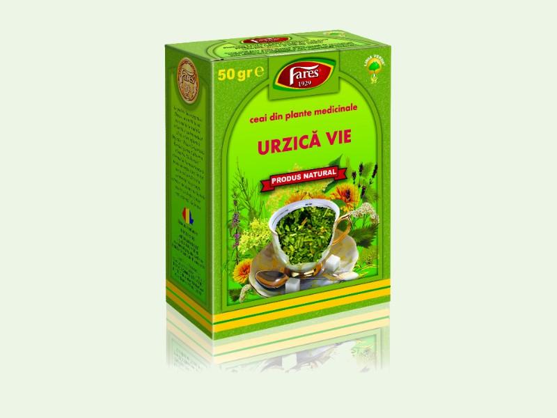 Ceaiul de urzică - Un ceai revigorant care ajută la detoxifierea organismului