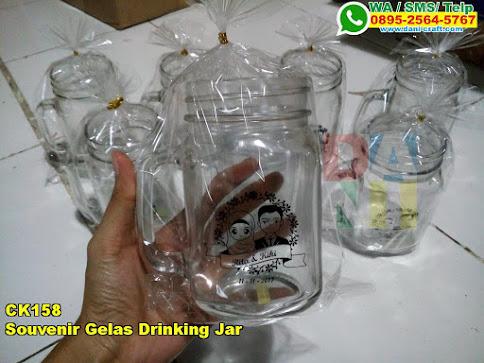 Toko Souvenir Gelas Drinking Jar