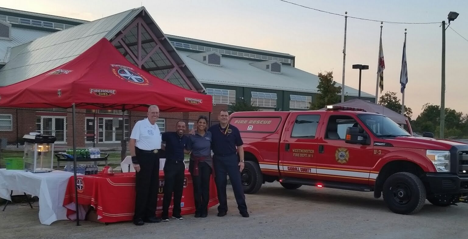 Dayhoff Soundtrack: The Westminster Vol  Fire Dept  visited with