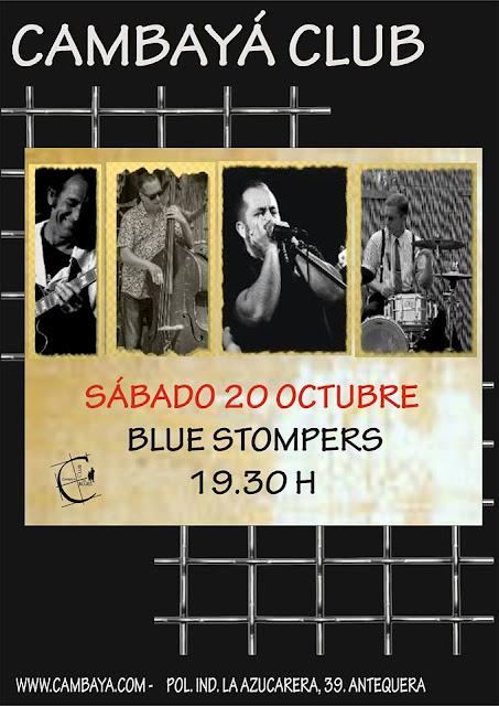 Concierto de The Blue Stompers en Antequera