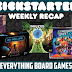 Kickstarter Recap - August 31, 2018