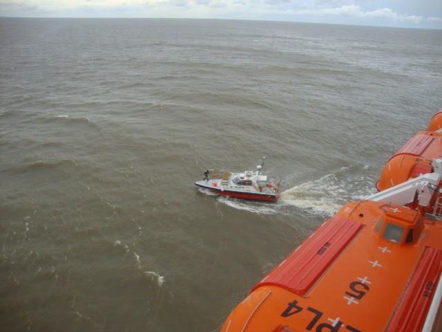Escala de navio em Montevidéu